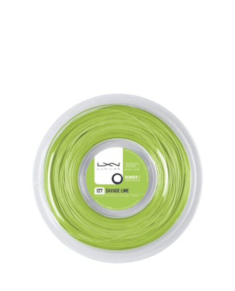 Luxilon Savage Lime 200m 1.27mm