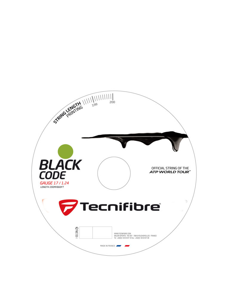 Tecnifibre Black Code 200m 1.24mm Lime