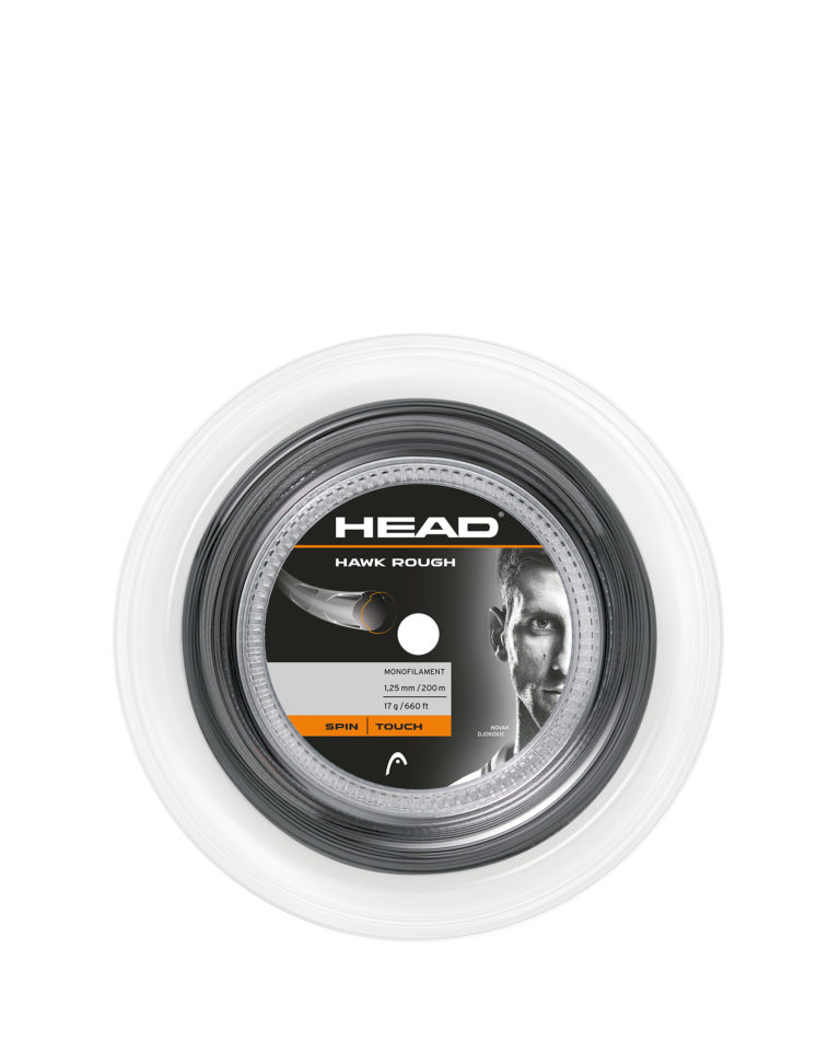 Head Hawk Rough Antracit 200m