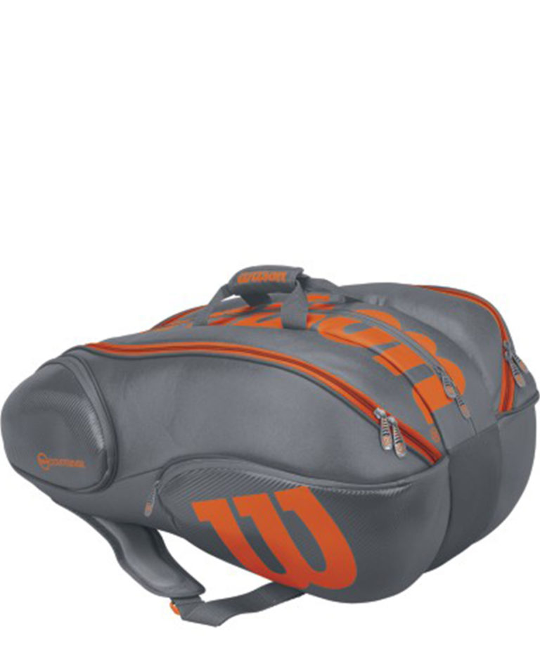 Wilson Burn 15 Pack Grey Orange 2017