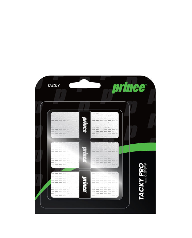 Prince Tacky Pro 3 Pack White