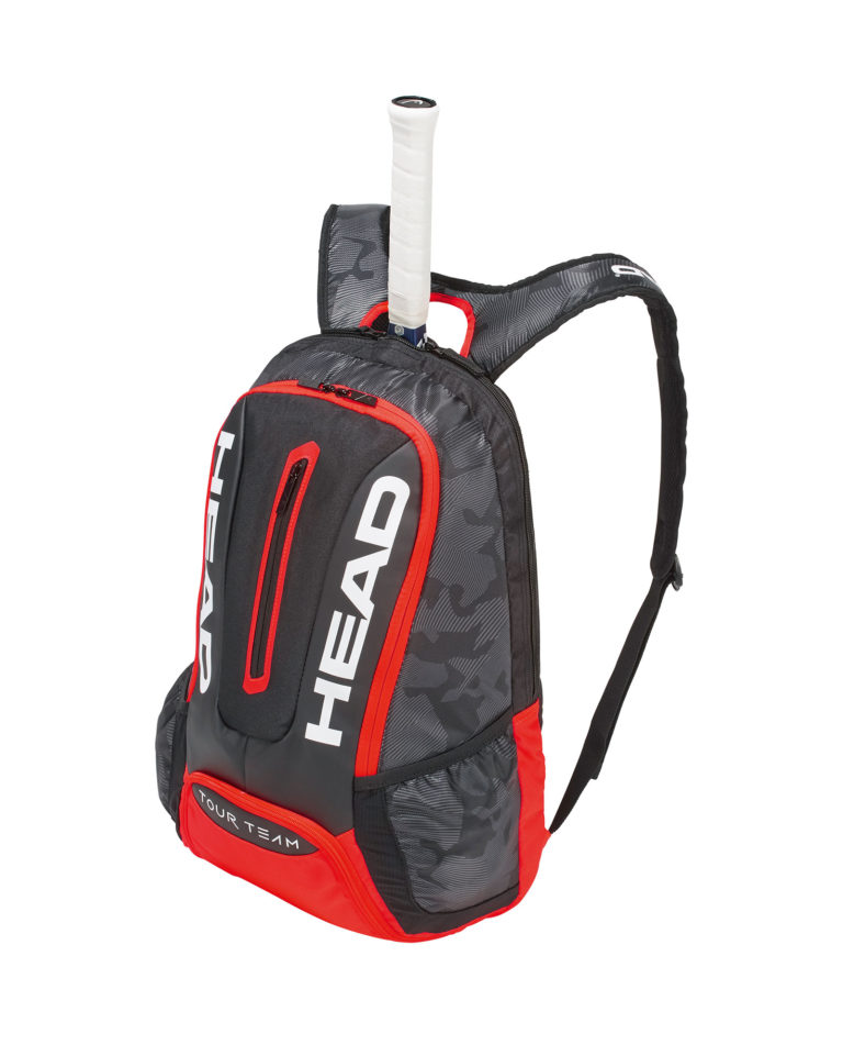 Head Tour Team Backpack Black Red 2018