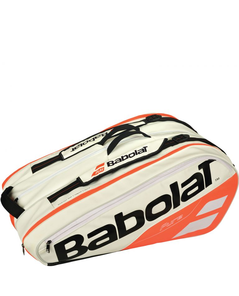 Babolat Pure Racket Holder x12 White 2018