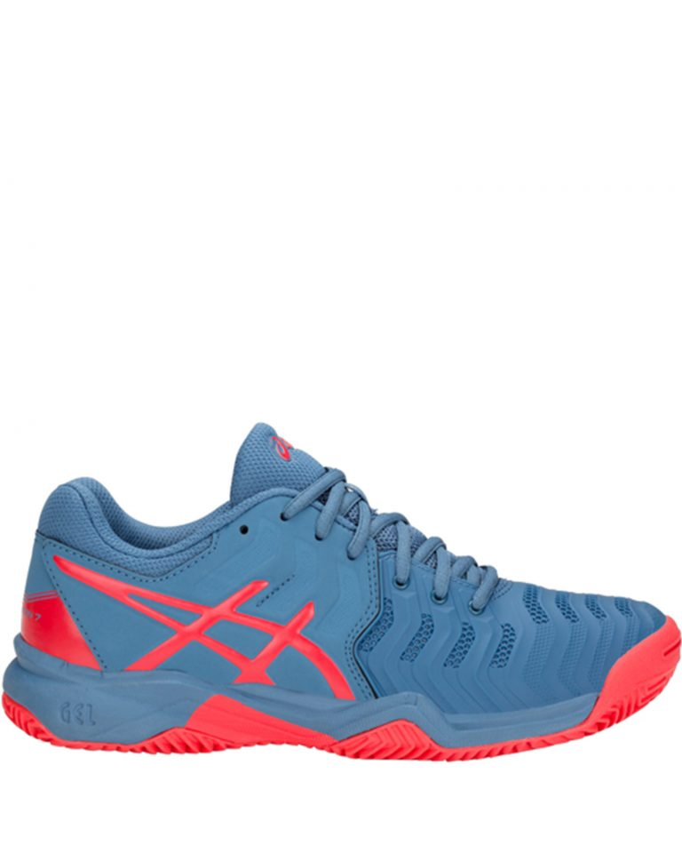 Asics Gel Resolution 7 GS Clay 2018 Azure Red Alert