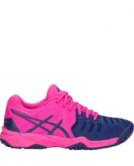 Asics Gel Resolution 7 GS 2018 Pink Blue