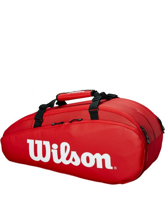 Wilson Super Tour 2 Compartment Small Red