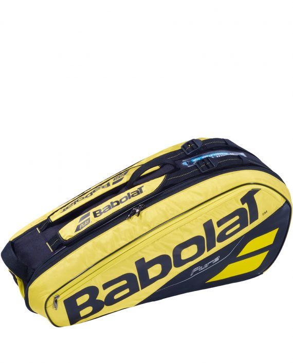 Babolat Racket Holder Pure Aero x6 Yellow Black
