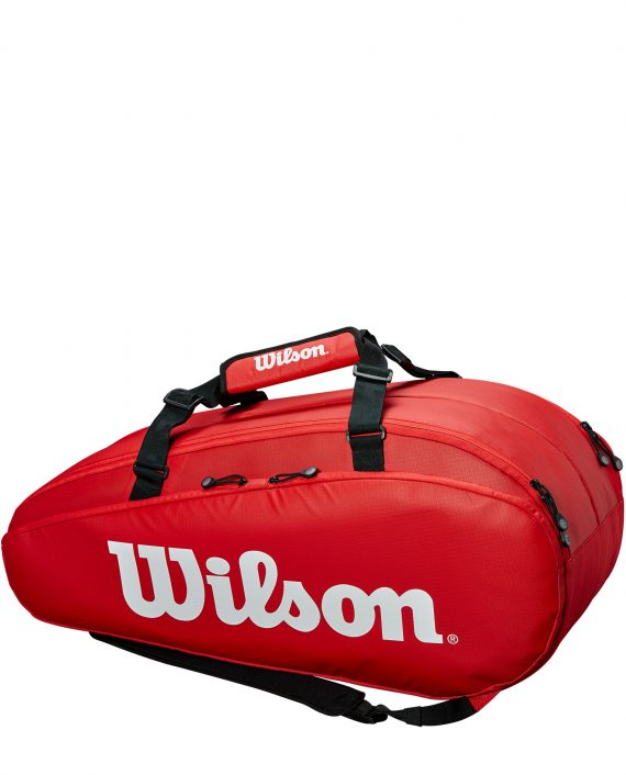 Wilson Tour 2 Compartment Large Red