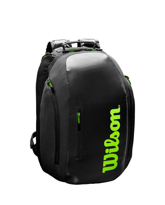 Wilson Super Tour Backpack Charcoal Green